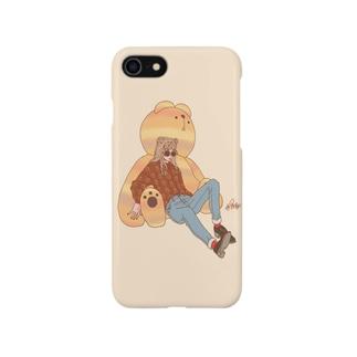 くまガール Smartphone cases