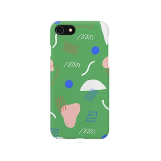 KIKAGAKU GREEN Smartphone cases