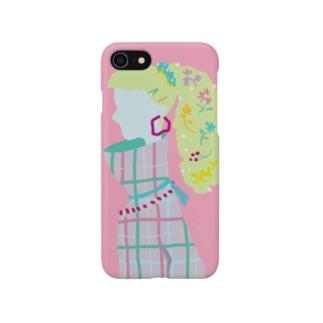F U U R Oの【AUTUMN PINK】 Smartphone cases
