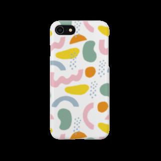 reinatakahashi_illustrationのKIKAGAKU MULTI COLOR Smartphone cases