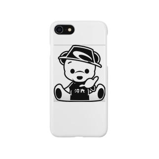 波丸君スマホケース Smartphone cases