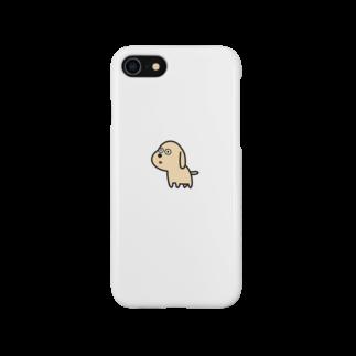 inu shopのなにか見つけたイヌ Smartphone cases