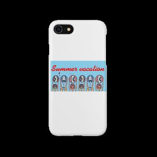 maimaice_creamのV.A.C.A.T.I.O.N!!!!! Smartphone cases