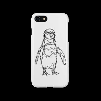 HELLL - ヘル - の左手で描いたペンギン Smartphone cases