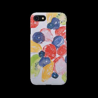 来世はふとん屋さんのフルーツたっぷりケーキ・鮮 Smartphone cases