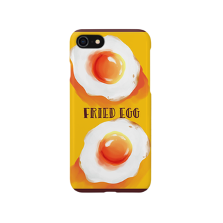 鴉@原稿のfried eggs Smartphone cases