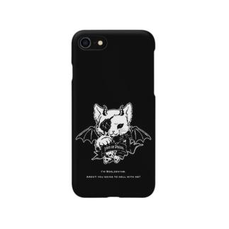 悪魔猫ベルゼニャブ 《iPhone 6s/6》《iPhone 8/7》用 Smartphone cases