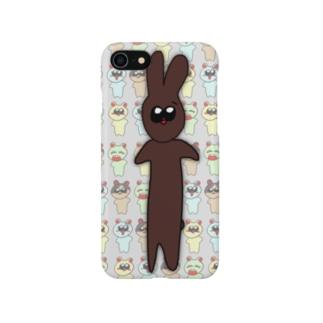 ガングロうさちゃん Smartphone cases