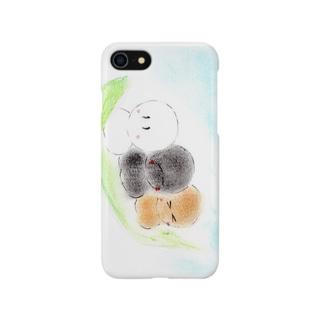 おだんごてるてる Smartphone cases