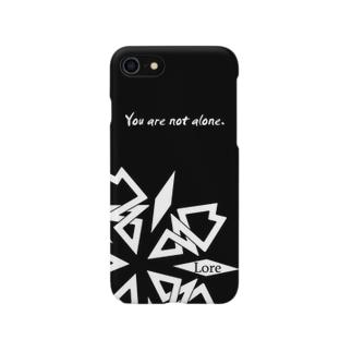 Lore(WHITE) Smartphone cases