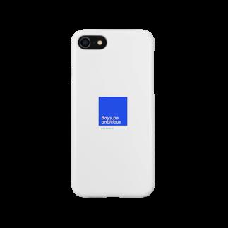 u-muraの少年よ大志を抱け Smartphone cases
