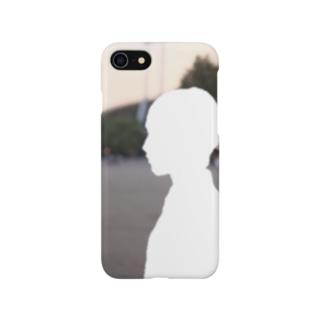 竹下キノの店の型抜きの人 Smartphone cases