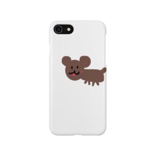 お絵描きdog Smartphone cases