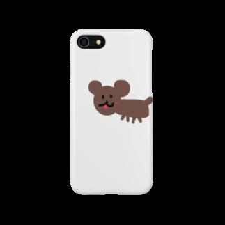 モエチャムのお絵描きdog Smartphone cases