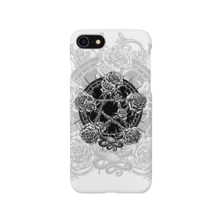 PENTAGRAM - WHITE Smartphone cases