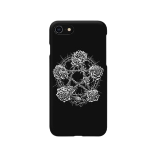 PENTAGRAM - BLACK Smartphone cases