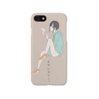 クロレのメランコリー Smartphone cases