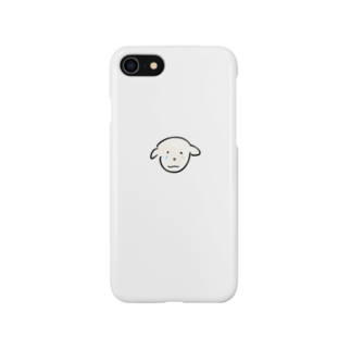 kkk1515の泣いてるいぬ Smartphone cases