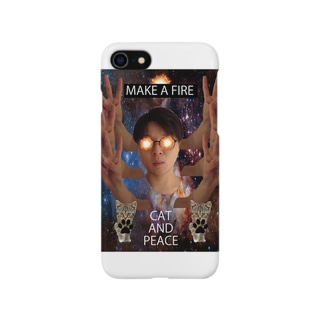 CAT AND PEACE Smartphone cases
