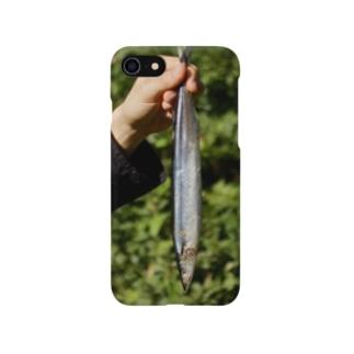 持ってきたサンマ Smartphone cases