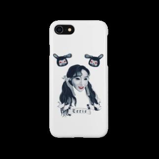 Eerieのmaggots Smartphone cases