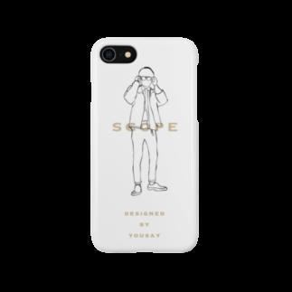 yousayAkのscope Smartphone cases