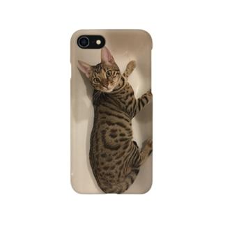 ベンガル猫 Smartphone cases