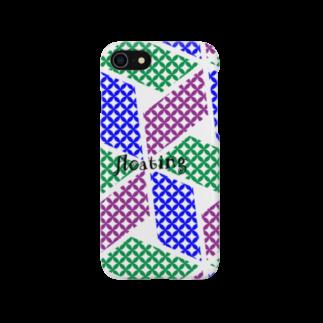 ひつじのこんぺいとう缶バッチ10号 Smartphone cases