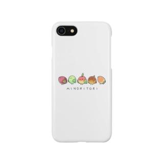ミノリトリ Smartphone cases
