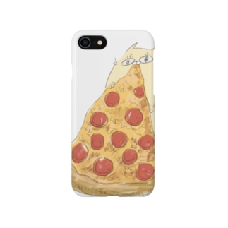 pizza time (ぐーにゃん) Smartphone cases