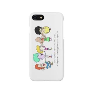 親友にも親友がいる Smartphone cases