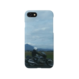 ツーリング風景 Smartphone cases