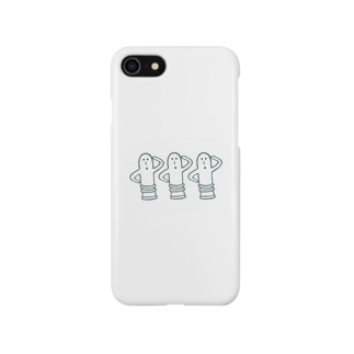 ハニワ3兄弟!! Smartphone cases