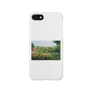 雑草のなかに Smartphone cases