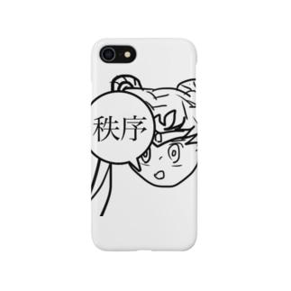 """秩序ちゃん""""act2"""" Smartphone cases"""