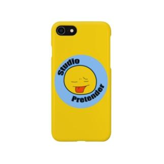 Studio Pretender スマホケース 黄 Smartphone cases