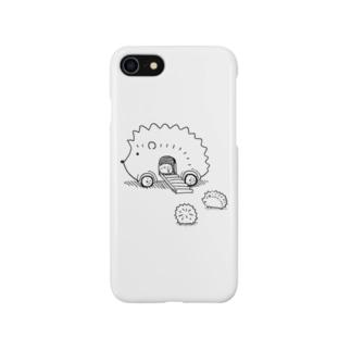 ハリネズミのスミカ Smartphone cases