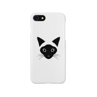 シャム猫のゆきちゃん Smartphone cases