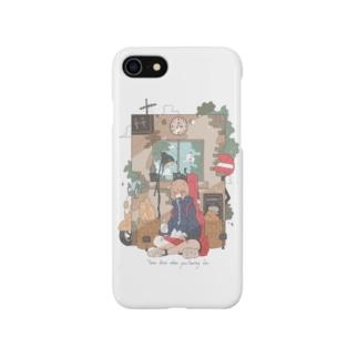 「ねことベーカリー🥖」昼ver. Smartphone cases