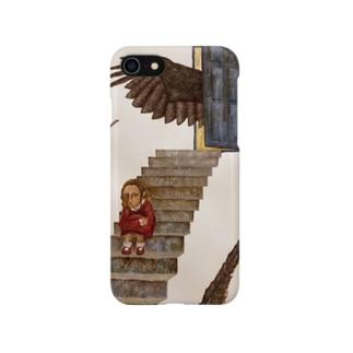 カラスと少女 Smartphone cases