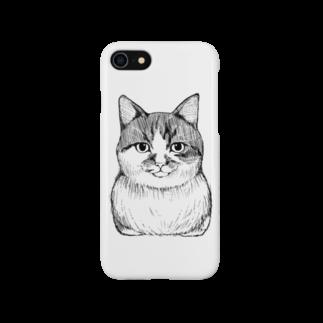 愛猫達の雑貨店の義実家のコチ Smartphone cases