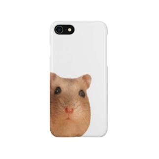 ひょっこりハムスター Smartphone cases