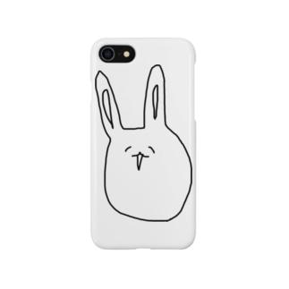オダヤカナウサギ Smartphone cases