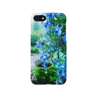 雨の蒼 Smartphone cases