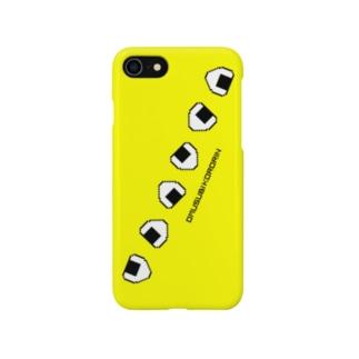 おむすびころりん イエロー Smartphone cases