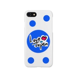 Love Japan水玉バージョン Smartphone cases
