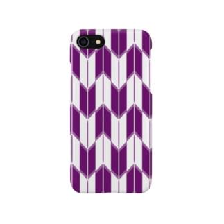 矢絣(やがすり) Smartphone cases