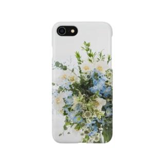 草花のブーケ💐 スマホケース Smartphone cases