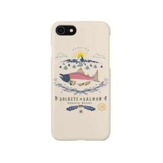 (iPhone6-6s-7-8-X-XS-XR)ベニシャケの帰還  Smartphone cases