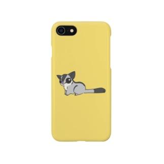 シンプルフクモモ1 Smartphone cases